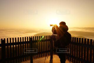 風景,空,絶景,太陽,光,雲海,日の出