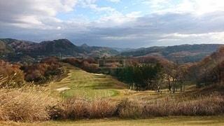 秋のゴルフ場!の写真・画像素材[2591052]