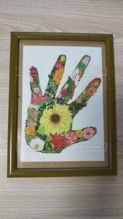 手のひらの花畑‼️の写真・画像素材[3072093]