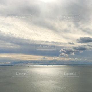 瀬戸内の海と雲の写真・画像素材[2984617]