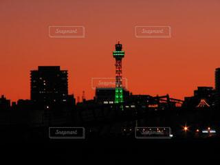 夕焼けの写真・画像素材[537355]