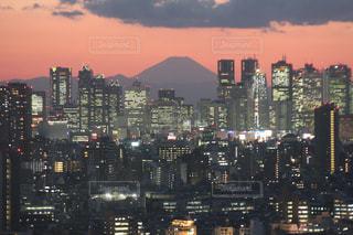 夜の街の景色の写真・画像素材[791037]