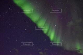 オーロラと星の写真・画像素材[4754952]