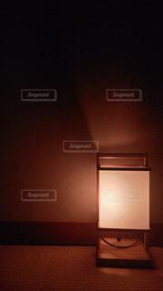 和室に寝灯りの写真・画像素材[4823913]