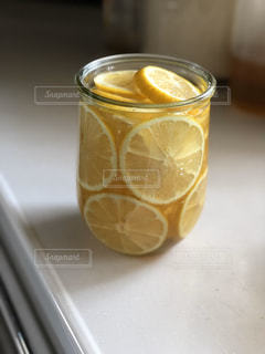 自家製はちみつレモンの写真・画像素材[3218797]