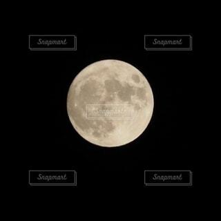中秋の名月の写真・画像素材[3753638]