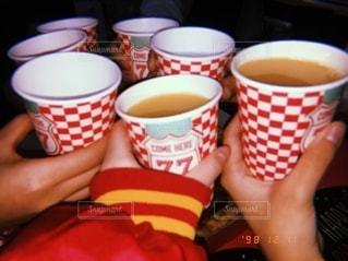 パーティ,赤,ジュース,グラス,可愛い,乾杯,フィルム,ドリンク,友達