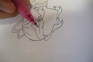 イラスト,アート,ペン,人,手書き,インク,紙,おえかき,スケッチ,図面,おうち時間,ホワイト ボード