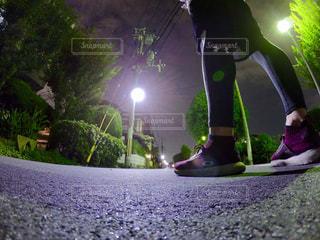 真夜中のトレーニング📸の写真・画像素材[2606977]