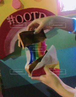 レインボーチーズトースト!の写真・画像素材[2592599]