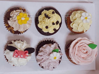 かわいいカップケーキの写真・画像素材[3275375]