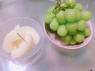 秋の果物2種の写真・画像素材[3711709]