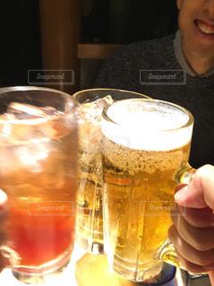 飲み物,お酒,嬉しい,グラス,ビール,焼酎,乾杯,飲み会,ドリンク,酒,炭酸,仲間,アルコール,サワー,喜び,同期,至福