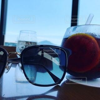 風景,サングラス,グラス,乾杯,ドリンク,飲料
