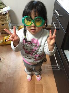 ファッション,アクセサリー,サングラス,かわいい,子供,女の子,眼鏡,三つ編み,幼児,メガネ,おさげ