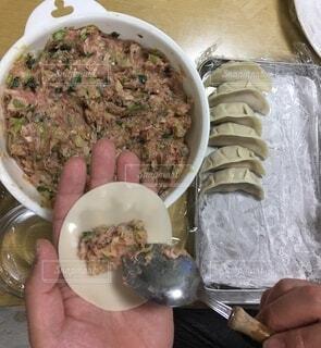 食べ物,食事,手持ち,野菜,皿,人物,肉,料理,ポートレート,手づくり,調理,手作り,餃子,ライフスタイル,レシピ,手元,健康的です