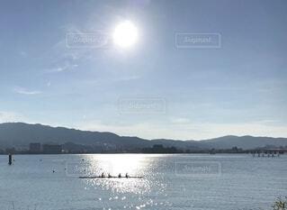 大きな水域の写真・画像素材[3704308]