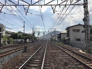 線路は続いているの写真・画像素材[3704310]