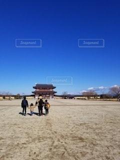 歴史感じる散歩の写真・画像素材[2601946]