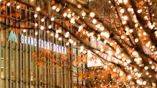 建物,夜,夜景,イルミネーション,キャンドル,キラキラ,クリスマス,明るい,シャンパン,パーティー,グランフロント大阪,シャンパンゴールド