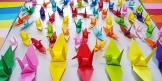 折り鶴の写真・画像素材[3359534]