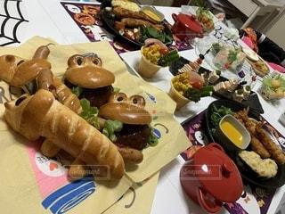 沢山の料理の写真・画像素材[2733845]