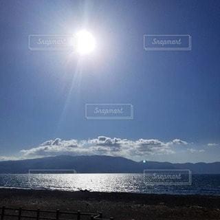 自然,海,空,太陽,きれい,海岸,景色,光,眺め