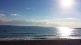 自然,海,空,太陽,ビーチ,きれい,水面,海岸,景色,光