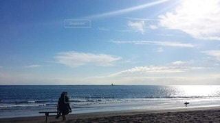 自然,海,空,屋外,太陽,ビーチ,きれい,砂浜,水面,海岸,景色,光
