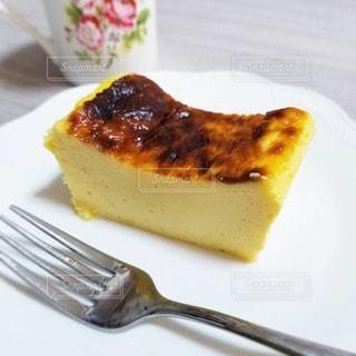 バスクチーズケーキの写真・画像素材[3247932]