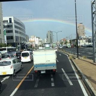 虹のトンネルの写真・画像素材[2630492]
