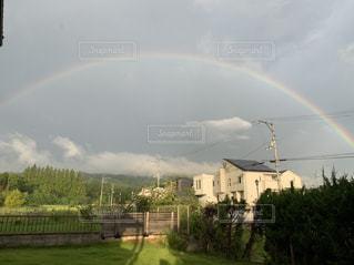 七色の虹の写真・画像素材[2610909]
