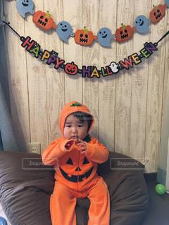 長男1歳のハロウィン♡の写真・画像素材[2753240]