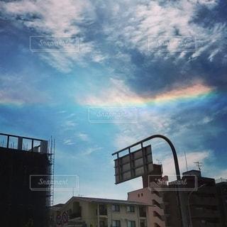 珍しい虹の写真・画像素材[2624737]