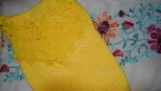 花,春,黄色,日常,レース,洋服,生活,刺繍,ライフスタイル,収納,パターン,衣替え,整理整頓