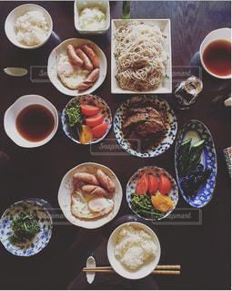 実家の朝ごはん母の味。の写真・画像素材[2622129]
