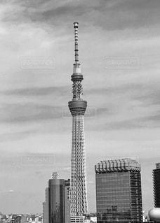 都市の高い塔の写真・画像素材[2915881]