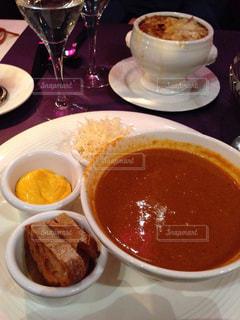 ディナー,旅,フランス,パリ,夕食,Paris,海外旅行,soupe de poisson,Capucine,魚介のスープ