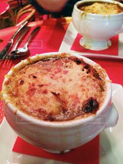 ディナー,旅,フランス,パリ,夕食,Paris,オニオングラタンスープ,cafe Madelene