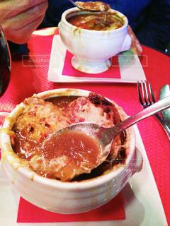 ディナー,旅,フランス,パリ,Paris,オニオングラタンスープ,cafe Madelene
