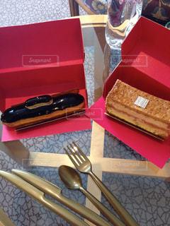 ケーキ,旅,フランス,パリ,Paris,海外旅行,テイクアウト,イートイン,Fauchon,高級食材店