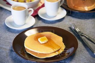 コーヒー,パンケーキ,朝食,パン