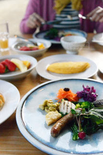 朝食の写真・画像素材[1145789]