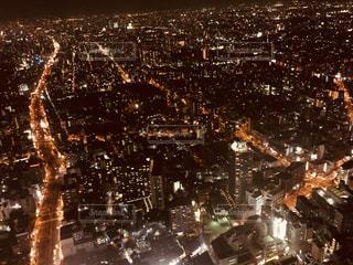 大阪の夜景の写真・画像素材[2634655]