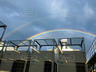 二重の虹の写真・画像素材[2634756]