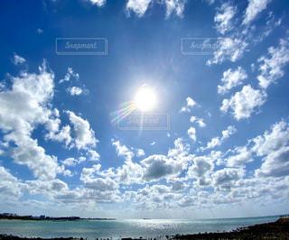 自然,空,屋外,太陽,ビーチ,水面,光