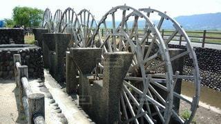 金属製のフェンスの写真・画像素材[2846158]