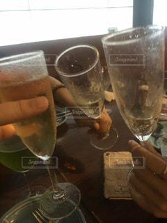 ワイン飲み放題で女子会!の写真・画像素材[3074625]