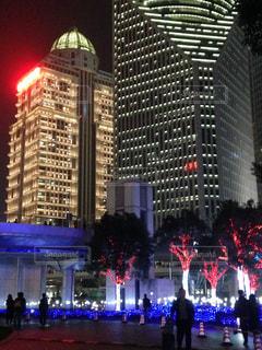 都会の高い建物の写真・画像素材[2728884]
