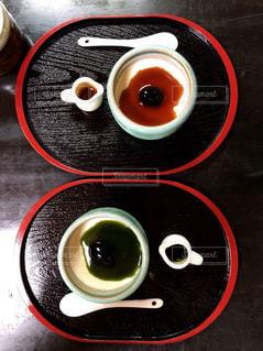 テーブルに和の雰囲気の写真・画像素材[2754601]